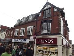 F. Hinds and Smash 'N' Grab - Bromsgrove High Street