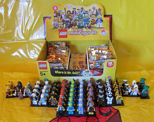 LEGO Collectible Minifigures Series 10 : Unpacked