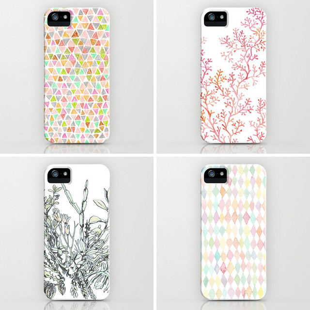 my drawings on iphone cases