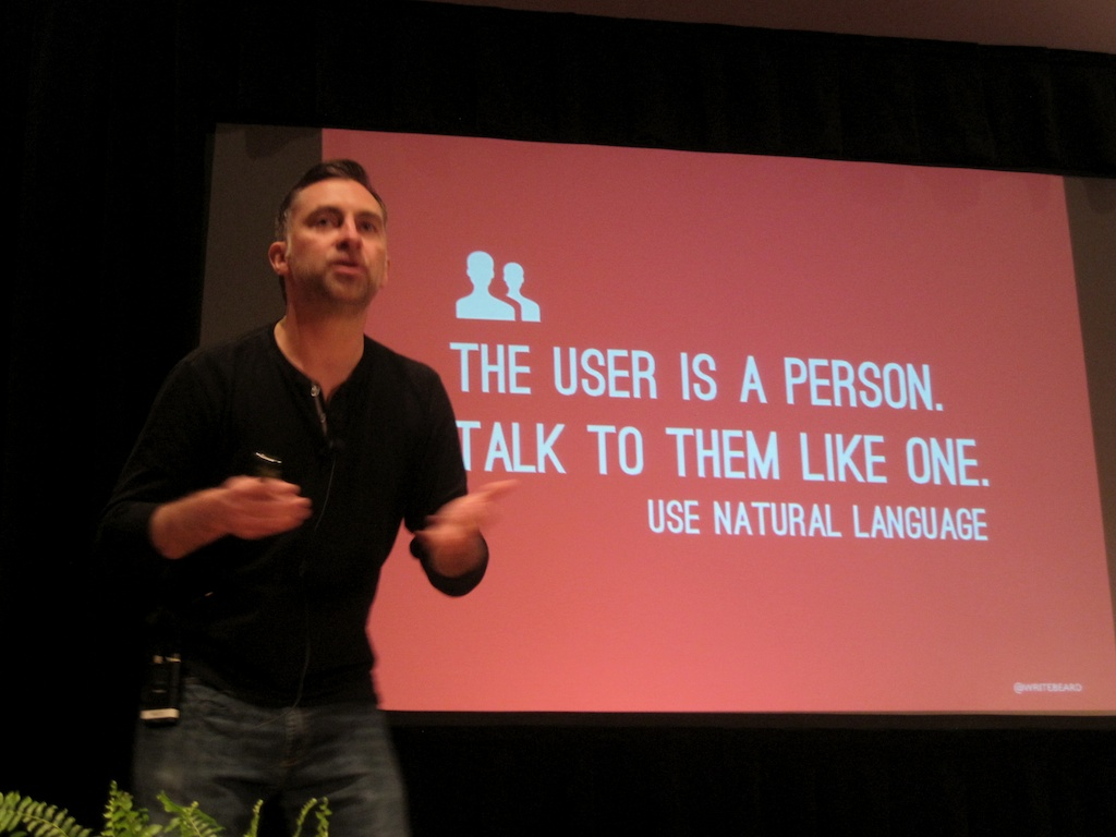 communicate with normal people in your user experience