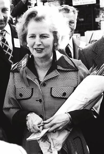Maggie Thatcher 1977