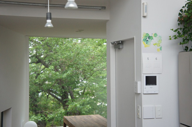 2013 calendar hanged at Casa Sakanoue (Photo by Yuko Manago)