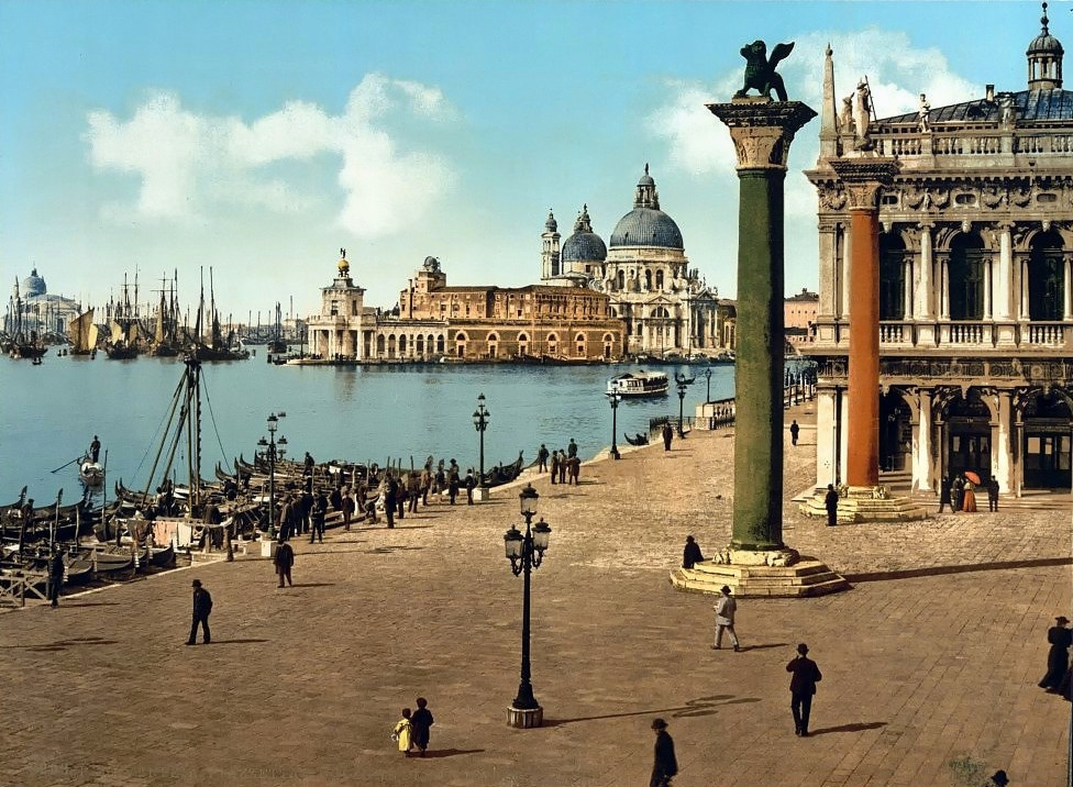 Piazaetta and columns of San Marco
