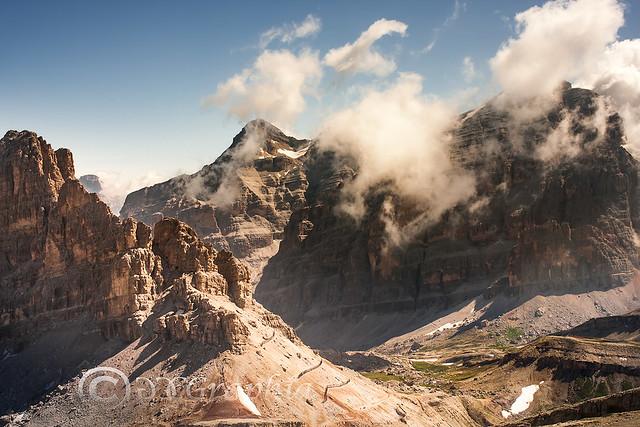 Landscape/Italy/Alps/Dolomiti/From Falzarego