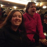 Intermission at The Music Man with @mskatieerin