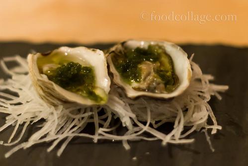 Kusshi Oysters at Fukuda