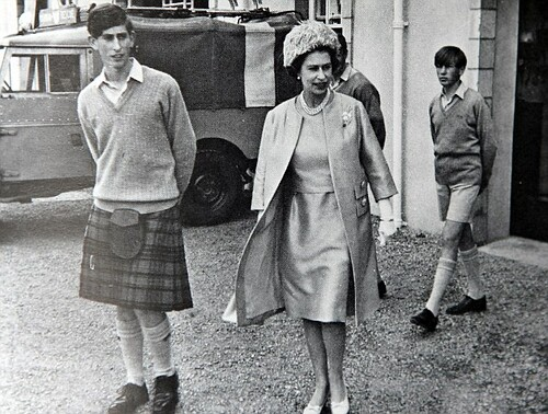 1973 The Queen (pictured right) did not listen to her mother when she said that Charles would be happier at Eton than at Gordonstoun