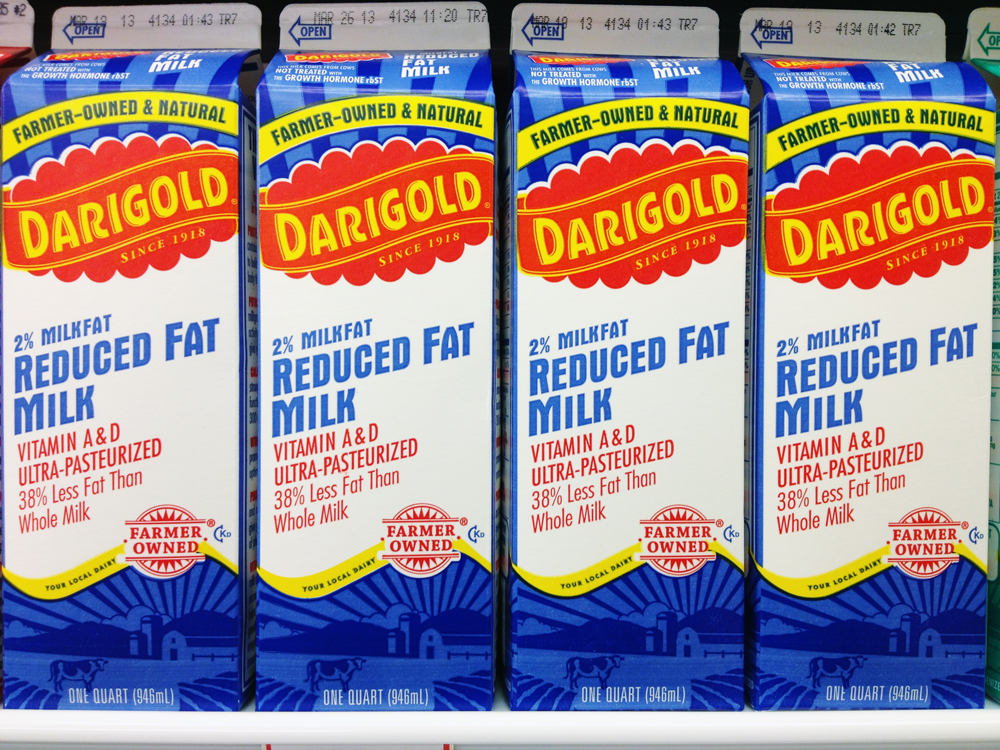 reduced fat milk