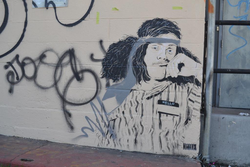 MURDOCK, Street Art, Stencil, Oakland, Graffiti