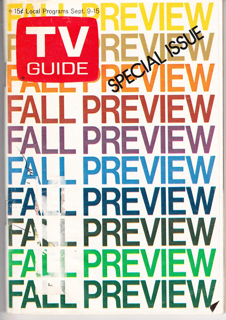 1973 TV Guide Fall Preview
