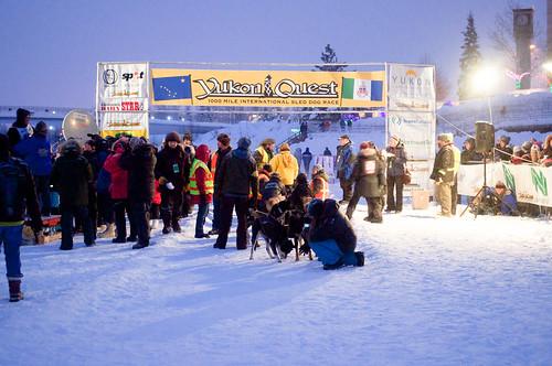 Yukon Quest 2013 - 11 de fevereiro.