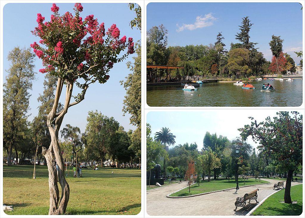 Santiago parks