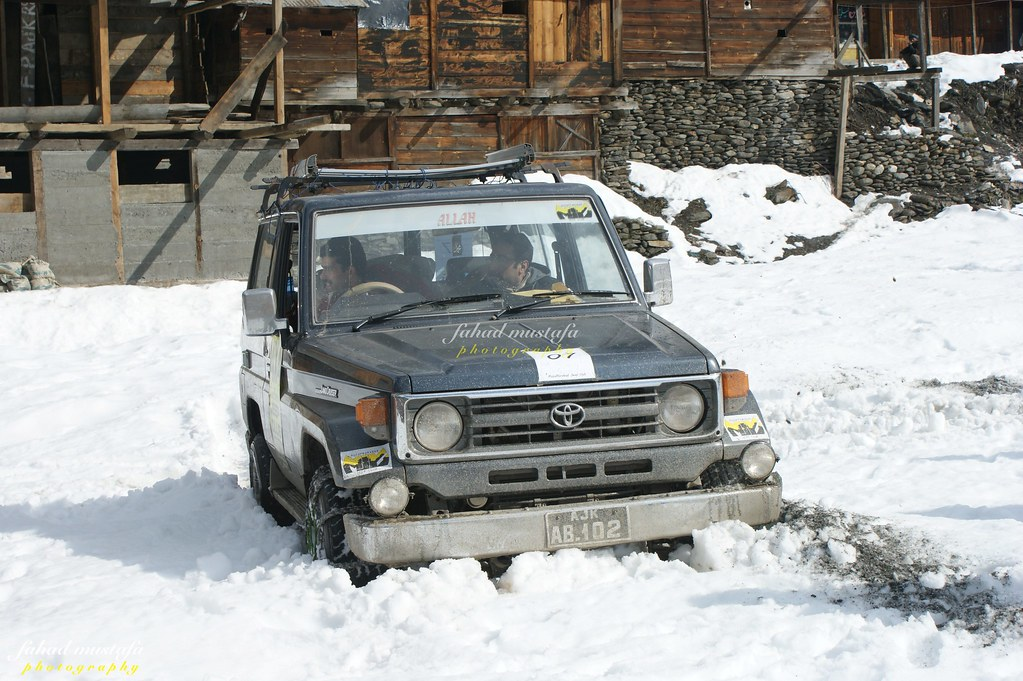 Muzaffarabad Jeep Club Neelum Snow Cross - 8470745643 82d7b1ded7 b