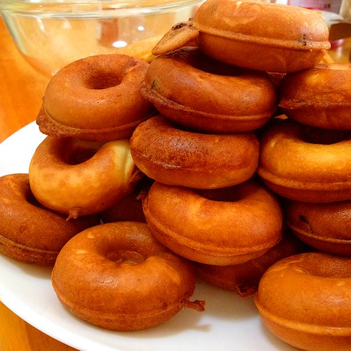 バレンタインのお菓子 クロアで手作りドーナッツ