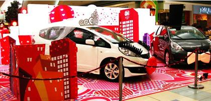SM City Lipa Valentines Display 2