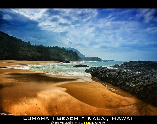 Life's a beach and then you die? Lumahai Beach; Kauai, Hawaii by Sam Antonio Photography