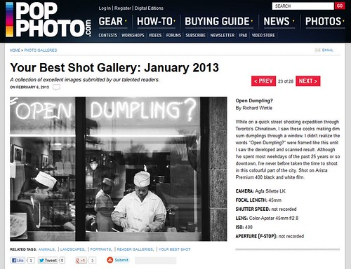 Popular Photography - Your Best Shot Gallery: January 2013