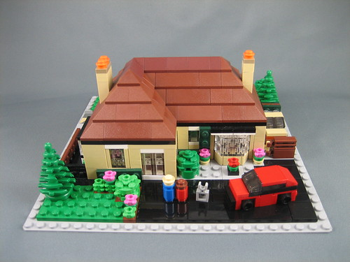 Another mini LEGO house