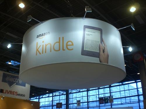 Le stand Amazon au Salon du Livre de Paris 2012