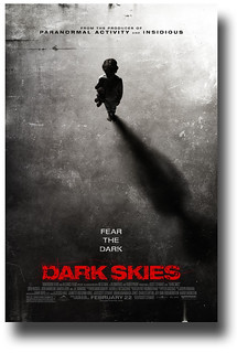 Dark Skies Movie Poster Shadow