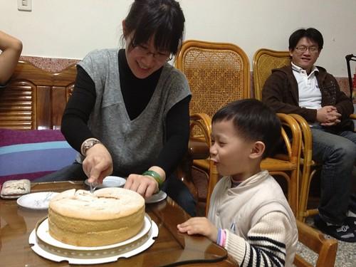 漢漢四歲生日快樂