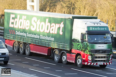 Volvo FH 6x2 Tractor - PX11 CGK - Maria Jane - Eddie Stobart - M1 J10 Luton - Steven Gray - IMG_0567