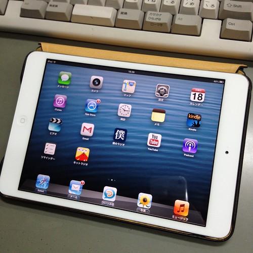 iPad mini用にJisoncaseケースを by haruhiko_iyota