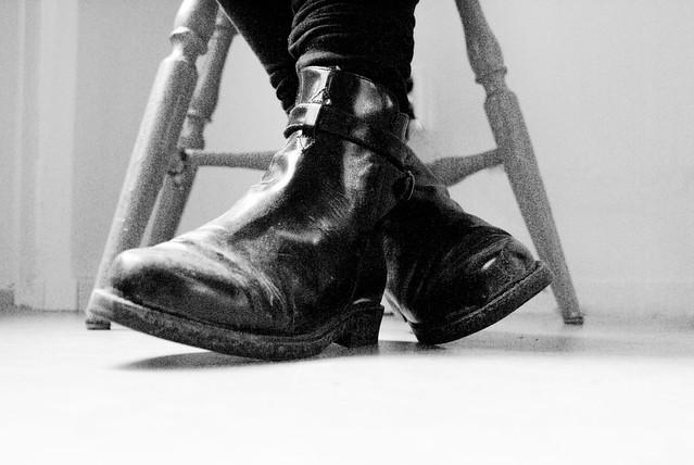 Smutsiga skor
