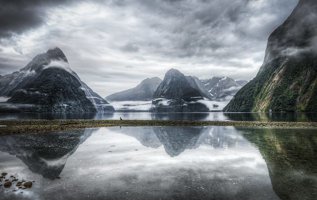 the sound that isn't | milford sound, new zealand [explore]