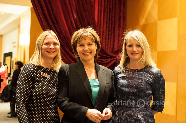 2013 FWE Gala: Christina Anthony, CFA, Premier Christy Clark, Gilt Groupe's Alexis Maybank