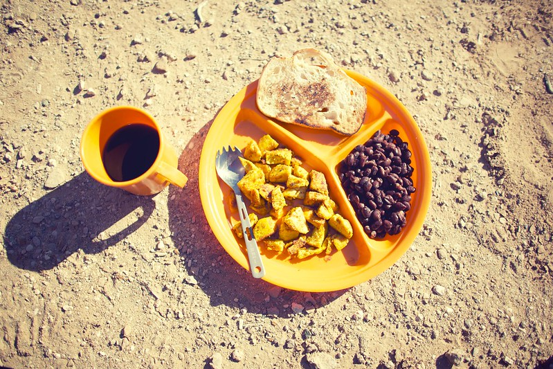 Camping, Vegan Breakfast