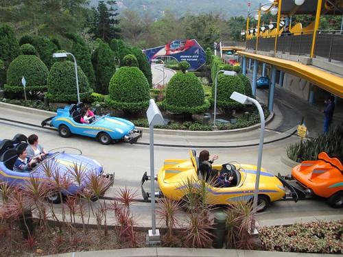 香港迪士尼開跑車