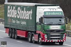 Volvo FH 6x2 Tractor - PX61 BFZ - Leonie Megan - Eddie Stobart - M1 J10 Luton - Steven Gray - IMG_2223