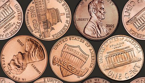 Coin floor texture