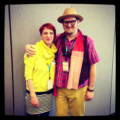 yup, it's @jaymccarroll !  #quiltcon #austin