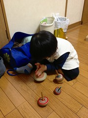 コマ回し 2013/2/23