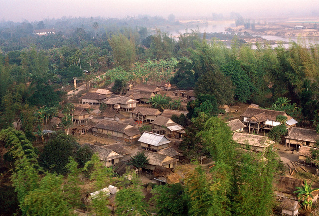 Village near Kontum 1971