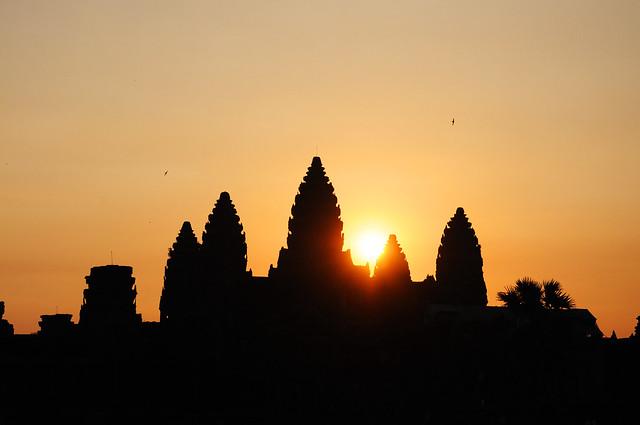 A Cambodian Sunrise