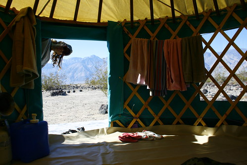 My Yurt @ Saline Valley