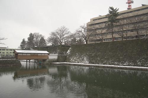 福井城跡お堀