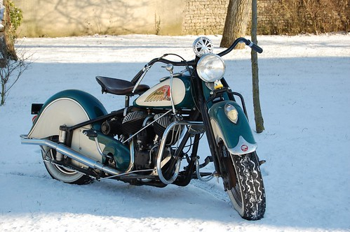 INDIAN 741 1940 ( Fr ) by vintage-revival
