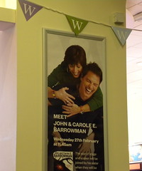Carole and John Barrowman poster