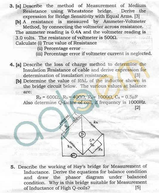 NSIT: Question Papers 2011 – 3 Semester - Mid Sem - EC-COE-204