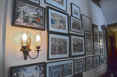 Lobby naval prints - FDR National Historic Site - Springwood Estate - Hyde Park NY - 2013-02-17