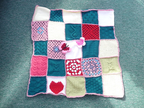 Thanks to everyone who sent in Squares both Knitted and Crocheted.