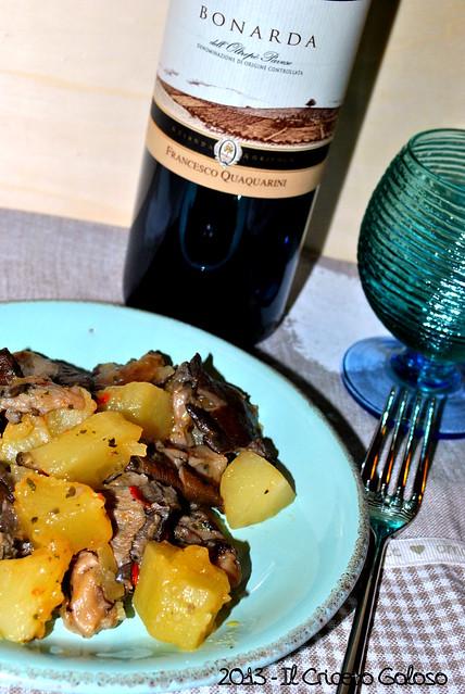 Funghi con le patate (2)