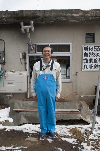 八千穂漁業の佐々木信幸さん_拡大