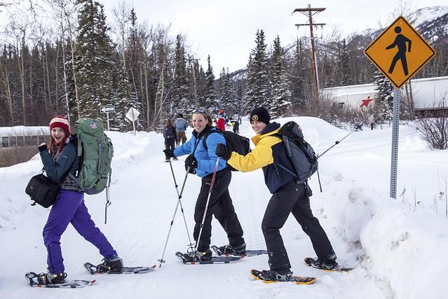 Snowshoe Hikers - Flickr CC DenaliNPS