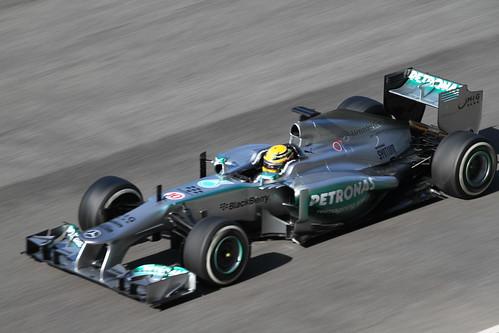 Equipe Mercedes GP de Formula 1 de  2013 - by Simon Williams