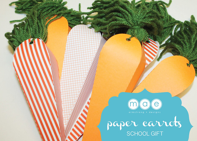 Paper Carrots - School Gift9